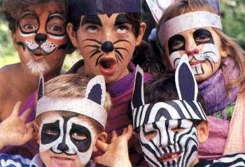 para colorear las caritas de los niños y trans Puntito 243 0 3.0